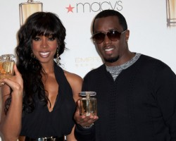 Kelly Rowland and Diddy - Wireimage