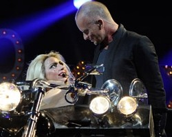 Lady Gaga and Sting - Wireimage