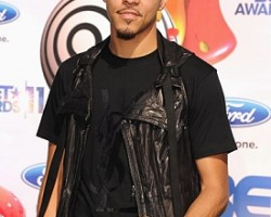J. Cole at the 2011 BET Awards - Getty