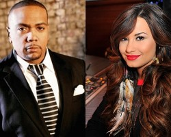 Timbaland, Demi Lovato - Getty