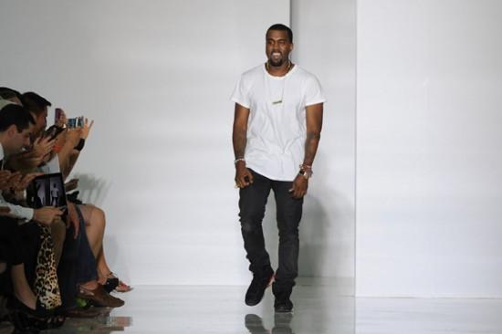 Photos: Kanye West Debuts Clothing Line At Paris Fashion Week