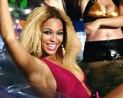 "Beyonce in ""Party"""