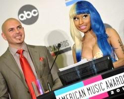 Pitbull and Nicki Minaj - Wireimage