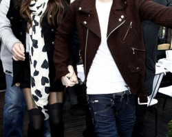 Justin Selena Paris 1