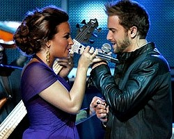 Demi Lovato and Pablo Alboran - Getty