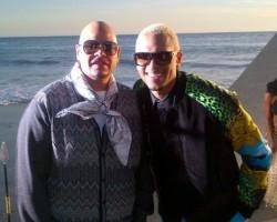 Fat Joe and Chris Brown - Twitter