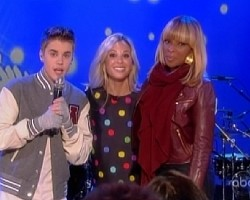 Justin Bieber and Mary J. Blige