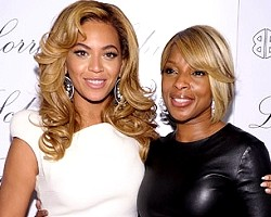 Beyoncé and Mary J. Blige - Wireimage
