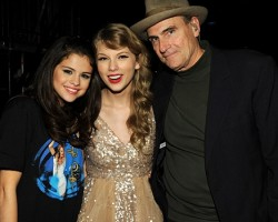 Selena Gomez, Taylor Swift, and James Taylor - Wireimage