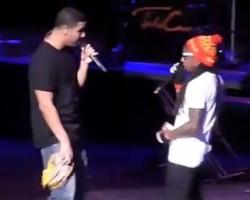 Drake and Lil Wayne - Youtube/rapuplive