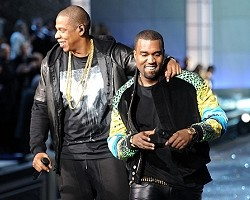 Jay-Z and Kanye West - Getty