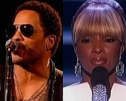 Lenny Kravitz, Mary J. Blige