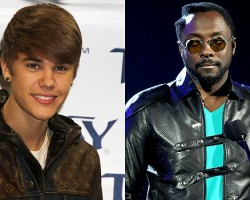 Justin Bieber, Will.i.am - PCN/Getty