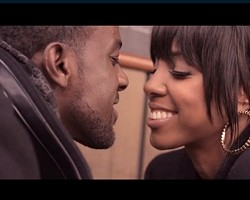 "Kelly Rowland and Lance Gross in ""Keep It Between Us"""