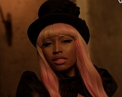 "Nicki Minaj in ""Turn Me On"""