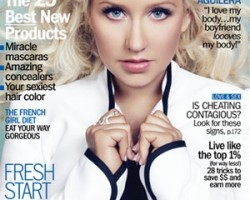 Christina Aguilera - Marie Claire (click to enlarge)