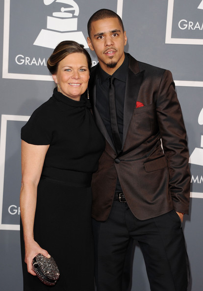 J Cole And His Mother J Cole Grammys ...