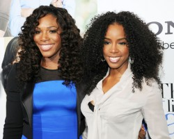 Serena Williams and Kelly Rowland - Getty
