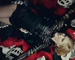 "Madonna in ""Give Me All Your Luvin"""