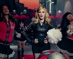 "M.I.A., Madonna, and Nicki Minaj in ""Give Me All Your Luvin"""