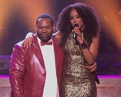 Raekwon and Kelly Rowland