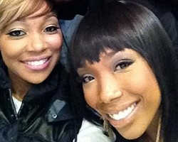 Monica and Brandy - Twitter