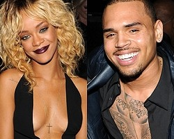 Rihanna, Chris Brown - Getty