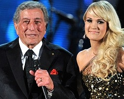 Tony Bennett and Carrie Underwood - Getty