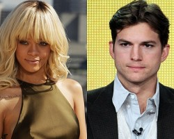 Rihanna, Ashton Kutcher - Getty