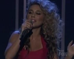 "Haley Reinhart performs ""Free"" on American Idol"