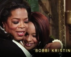 Oprah and Bobbi Kristina