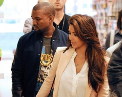 Kanye West and Kim Kardashian - PCN