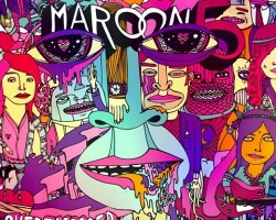 Maroon 5 Overexposed Cover