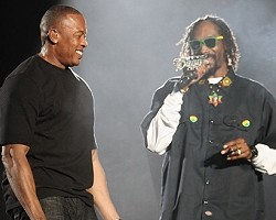 Dr. Dre and Snoop Dogg - Getty