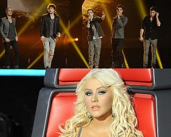 The Wanted, Christina Aguilera - NBC