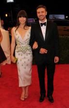 Justin Timberlake Jessica Biel Met Gala