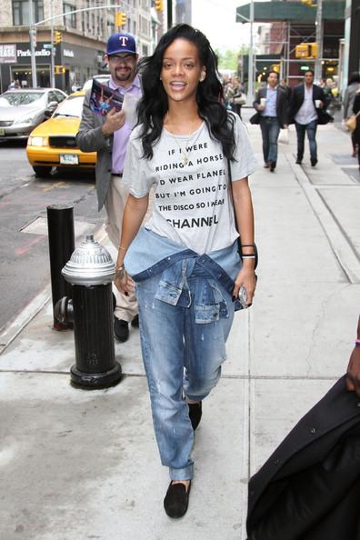Rihanna No Makeup 4