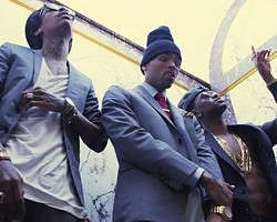 "Wiz Khalifa, Chris Brown and Big Sean in ""Till I Die"""