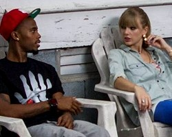 "B.o.B and Taylor Swift in ""Both Of Us"""