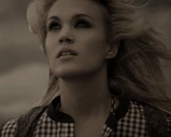 "Carrie Underwood in ""Blown Away"""