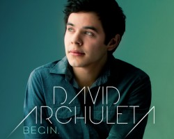 david archuleta begin album cover
