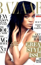 Rihanna Bazaar Cover