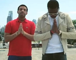"Drake and Meek Mill in ""Amen"""