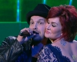 Gavin DeGraw and Sharon Osbourne