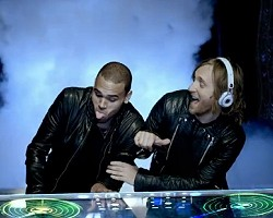 "Chris Brown and David Guetta in ""I Can Only Imagine"""