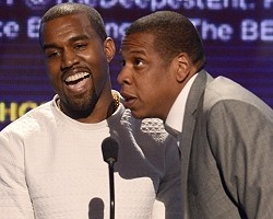 Kanye West and Jay-Z - Getty