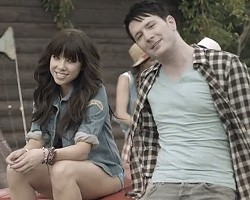 "Carly Rae Jepsen and Owl City in ""Good Time"""