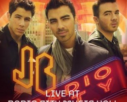 jonas brothers radio city