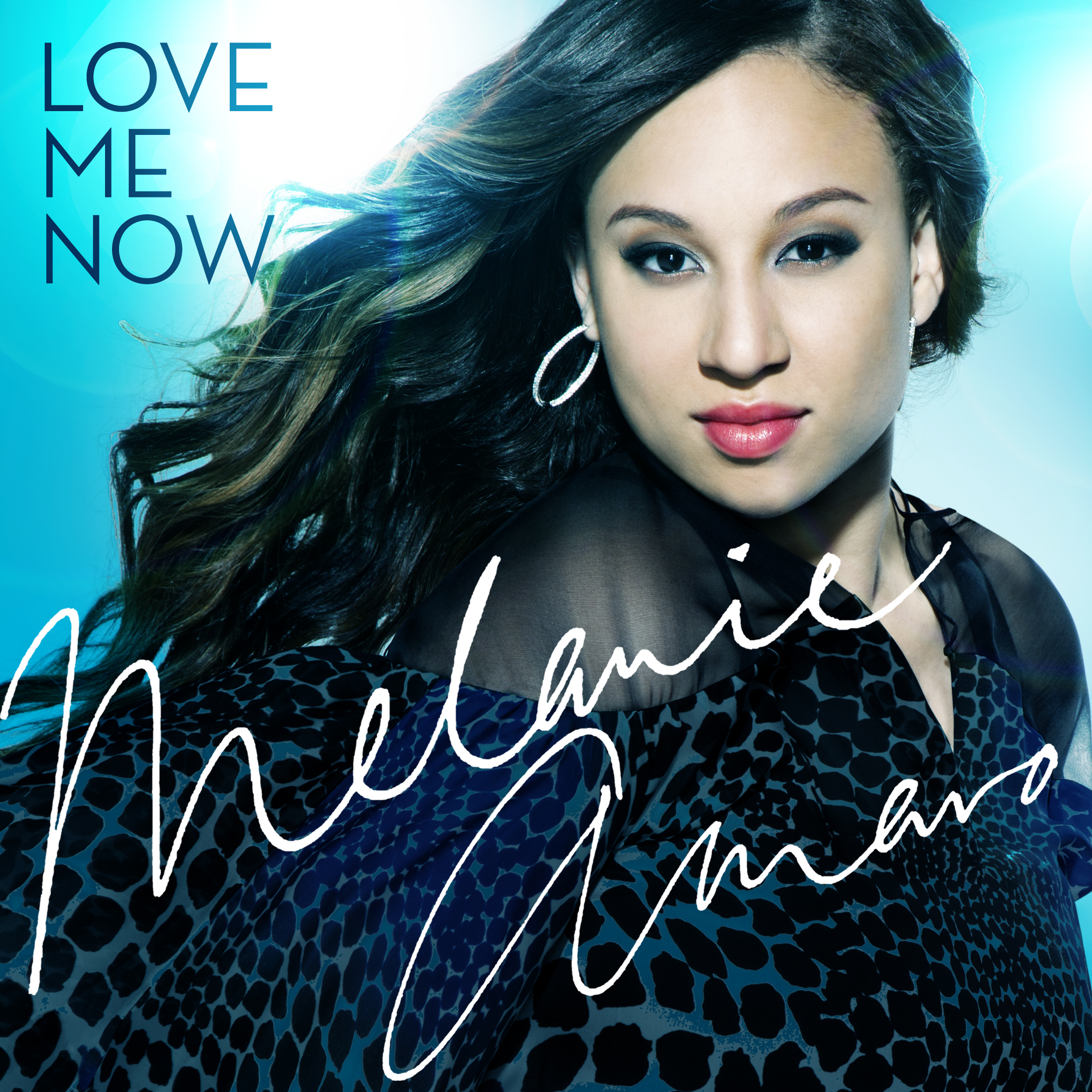 X Factor Music Melanie Amaro Love Me Now Single Cover