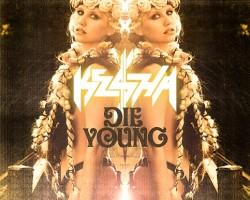 kesha die young singer cover